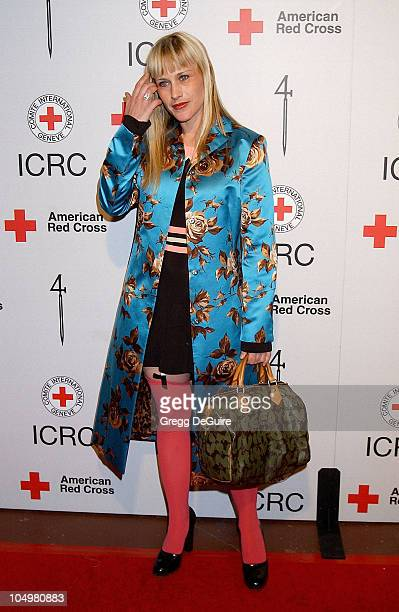 Patricia Arquette during Michel Comte's Benefit and Auction for People and Places With No Name Arrivals at Ace Gallery in Los Angeles California...