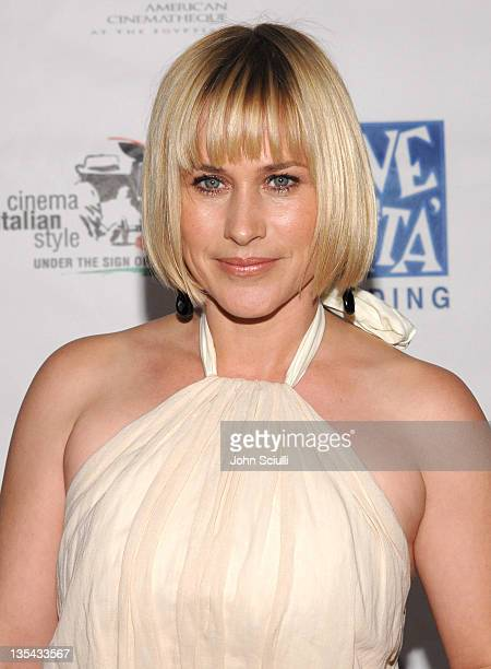 Patricia Arquette during Opening Gala of 'Cinema Italian Style New Films from Italy' at Egyptian Theatre in Los Angeles California United States