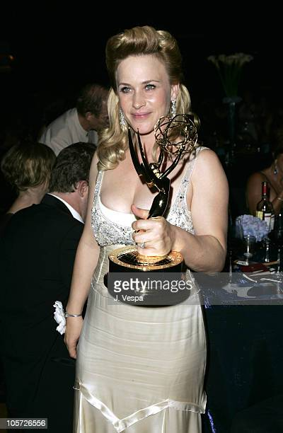 Patricia Arquette during The 57th Annual Emmy Awards Governors Ball at Shrine Auditorium in Los Angeles California United States