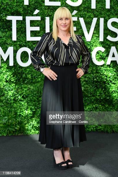 "Patricia Arquette from the serie ""The Act"" attends the 59th Monte Carlo TV Festival : Day Four on June 17, 2019 in Monte-Carlo, Monaco."