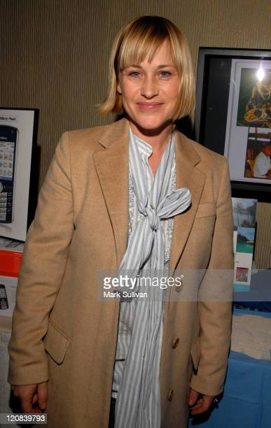 Patricia Arquette in Backstage Creations Talent Retreat during The 2007 Golden Globes