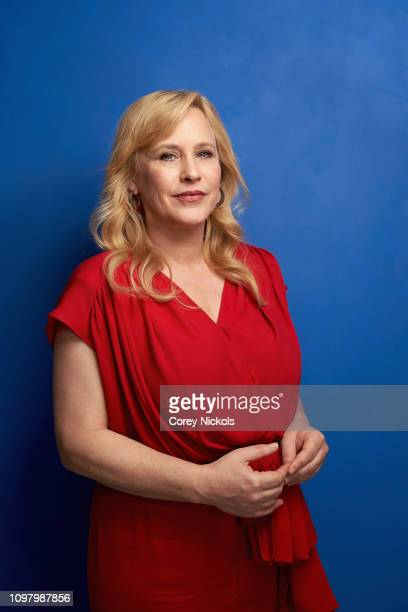 Patricia Arquette of Hulu's The Act poses for a portrait during the 2019 Winter TCA at The Langham Huntington Pasadena on February 11 2019 in...