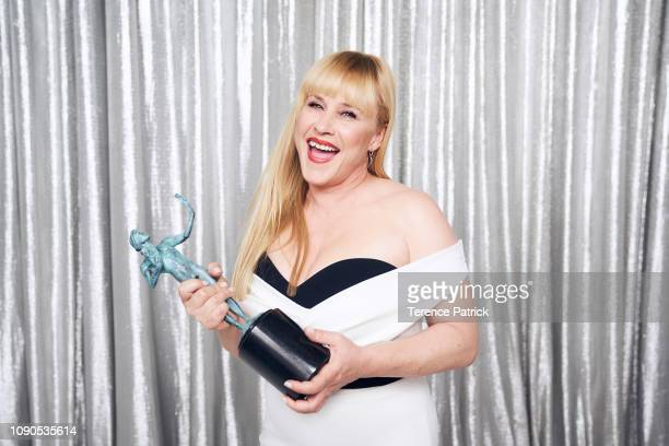 Patricia Arquette winner of Outstanding Performance by a Female Actor in a Miniseries or Television Movie in 'Escape at Dannemora' poses in the...