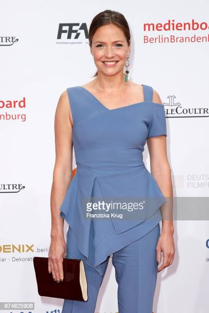 Patricia Aulitzky during the Lola German Film Award red carpet arrivals at Messe Berlin on April 28 2017 in Berlin Germany