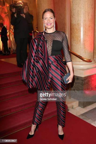 Patricia Aulitzky during the ROMY award at Hofburg Vienna on April 13 2019 in Vienna Austria