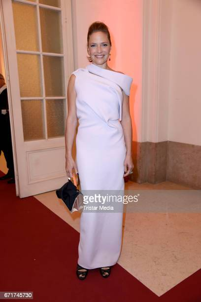 Patricia Aulitzky during the ROMY award at Hofburg Vienna on April 22, 2017 in Vienna, Austria.