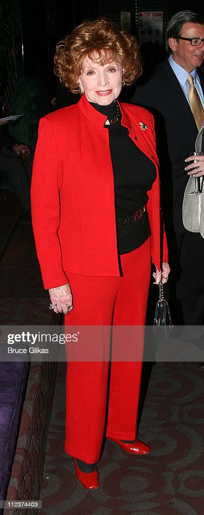 Patricia Barry during 'A Moon for the Misbegotten' Opening Night - After Party at 230 5th Avenue Party Space in New York, New York, United States.