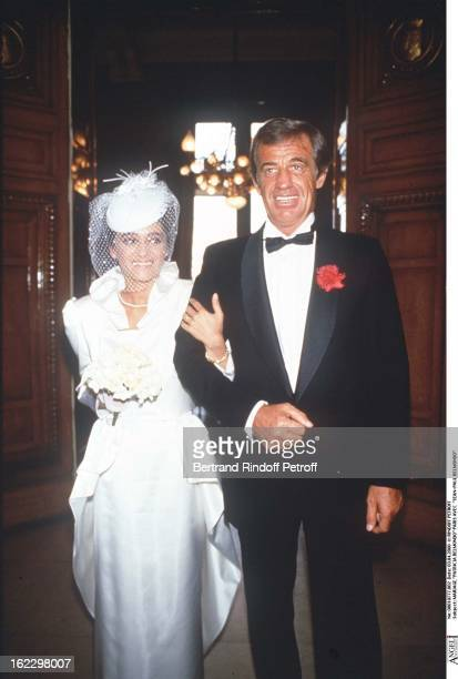 Patricia Belmondo's wedding in Paris with JeanPaul Belmondo