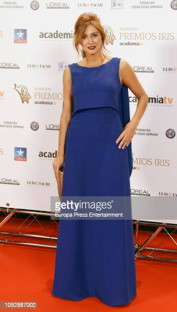 Patricia Betancourt attend Iris Television Awards Photocall at Kinepolis on October 23 2018 in Madrid Spain
