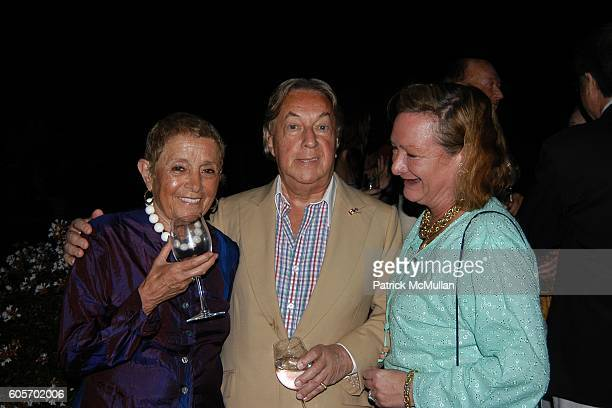 Patricia Birch Becker Arnold Scaasi and Pandora Biddle Hentic attend FRANCES HAYWARD Dinner Party For ANNE HEARST and JAY MCINERNEY to Celebrate...
