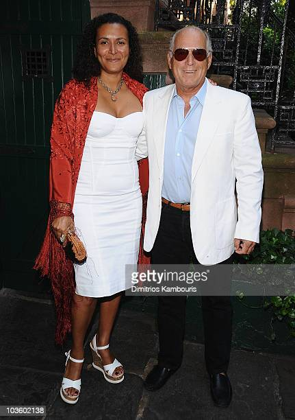 Patricia Blanchet and musician Jimmy Buffett attend the Gonzo The Life and Work of Dr Hunter S Thompson New York Premiere on June 25 2008 at The...