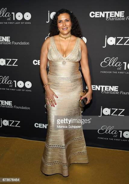 Patricia Blanchet attends the 2017 Jazz At Lincoln Center Gala Ella At 100 Forever The First Lady of Song at Frederick P Rose Hall Jazz at Lincoln...
