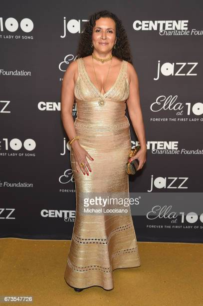 Patricia Blanchet attends the Jazz at Lincoln Center 2017 Gala Ella at 100 Forever the First Lady of Song on April 26 2017 in New York City