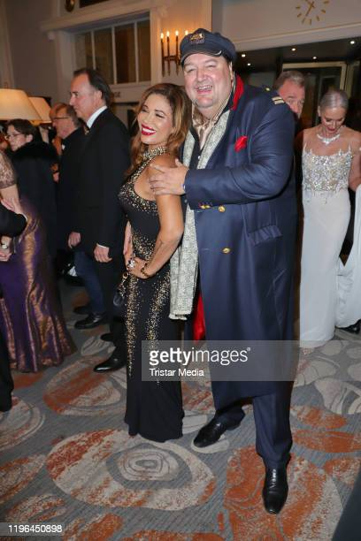 Patricia Blanco and her partner Andreas Ellermann during the Presseball Hamburg at Hotel Atlantic on January 25 2020 in Hamburg Germany