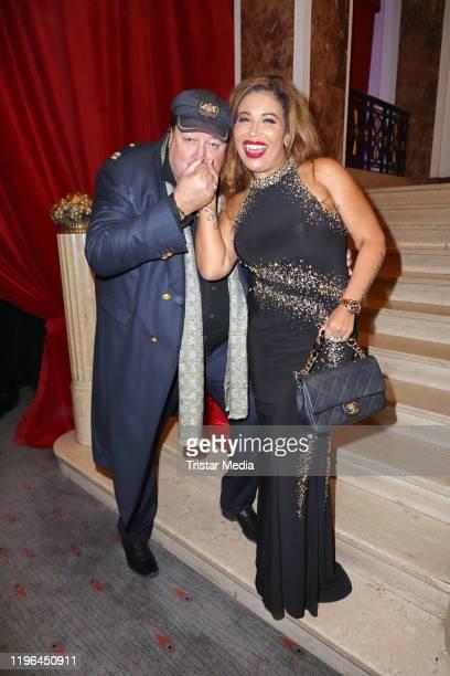 Patricia Blanco and her partner Andreas Ellermann during the Presseball Hamburg at Hotel Atlantic on January 25, 2020 in Hamburg, Germany.