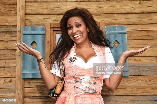 Patricia Blanco attends the Ladies Lunch at Fisch Baeda during the Oktoberfest 2015 at Theresienwiese on September 29, 2015 in Munich, Germany.