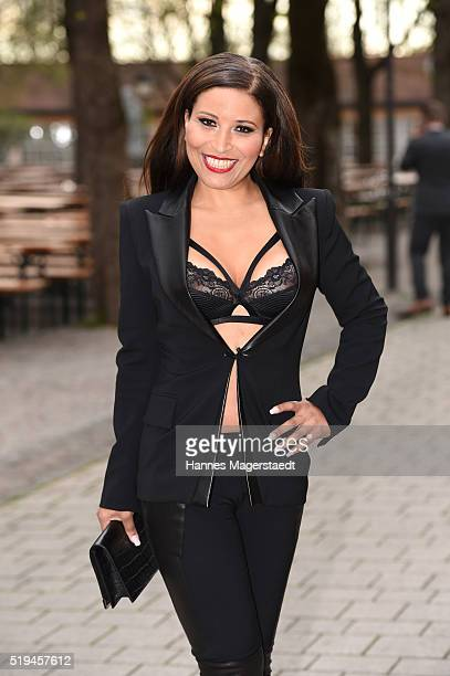 Patricia Blanco during the 'EAGLES Fashion Dinner' at Nockherberg on April 6 2016 in Munich Germany
