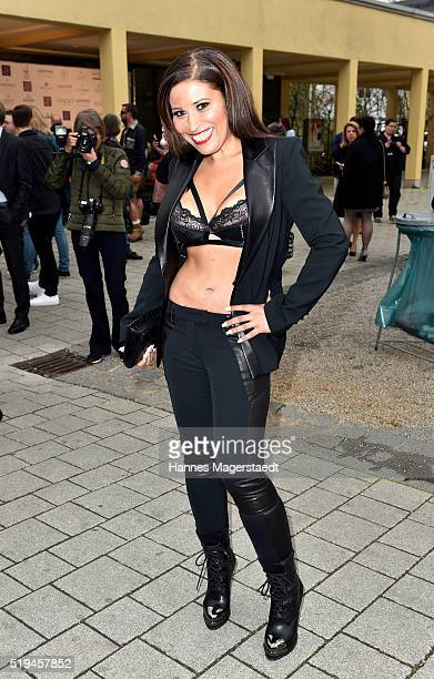 Patricia Blanco during the 'EAGLES Fashion Dinner' at Nockherberg on April 6, 2016 in Munich, Germany.