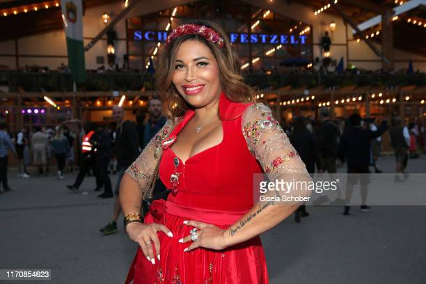 Patricia Blanco during the Oktoberfest 2019 at Theresienwiese on September 24, 2019 in Munich, Germany.