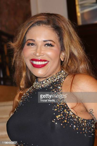 Patricia Blanco during the Presseball Hamburg at Hotel Atlantic on January 25 2020 in Hamburg Germany