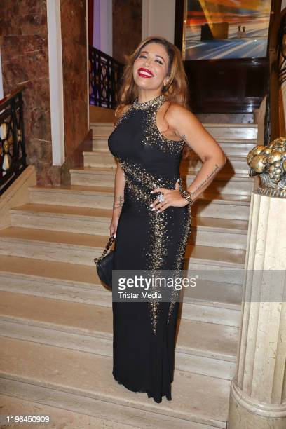 Patricia Blanco during the Presseball Hamburg at Hotel Atlantic on January 25, 2020 in Hamburg, Germany.