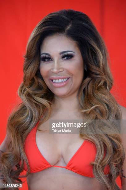 Patricia Blanco during the Venus 2019 campaign photo shooting on April 25 2019 in Berlin Germany