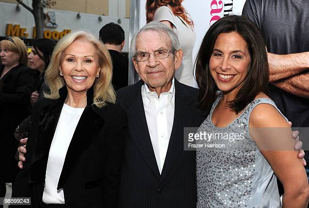 Patricia Bosley actor Tom Bosley and CBS Films President/CEO Amy Baer arrive at the premiere of CBS Films' The Backup Plan held at the Regency...