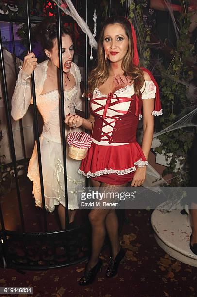 Patricia Caring attends Halloween at Annabel's at 46 Berkeley Square on October 29 2016 in London England