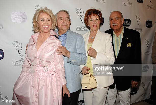 Patricia CarrBosley Tom Bosley Marion Ross and Paul Michael attend the The Academy of Television Arts Sciences 10th Anniversary Celebration of The...
