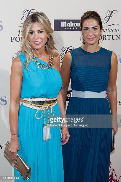 Patricia Cerezo and Nuria Roca attend 'Fortuny' 15th Anniversary party on September 12 2012 in Madrid Spain