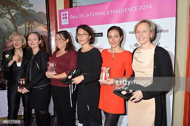 Patricia Chapelotte from 'Prix De La Femme D'Influence' Nathalie Loiseau Zahia Ziouani's twin sister Fettouma Ziouani Nathalie Balla Catherine Barba...