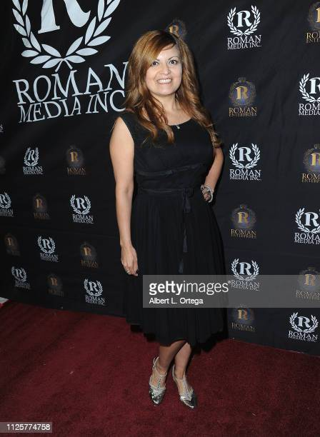 Patricia Chica arrives for Roman Media's 5th Annual Hollywood Event A Celebration of Women and Diversity in Film held at St Felix on February 18 2019...