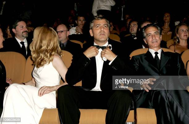 Patricia Clarckson George Clooney and David Strathairn