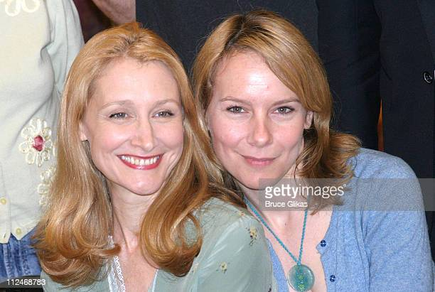 Patricia Clarkson and Amy Ryan during The Kennedy Center Presents 'A Streetcar Named Desire' Meet Greet at 42nd Street Studios in New York City New...