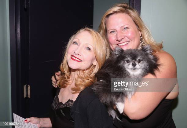 Patricia Clarkson and Bridget Everett pose at The 34th Annual CSA Artios Awards at Stage 48 on January 31, 2019 in New York City.