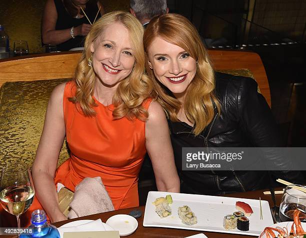 Patricia Clarkson and Bryce Dallas Howard attend the DGA Honors 2015 after party on October 15 2015 in New York City