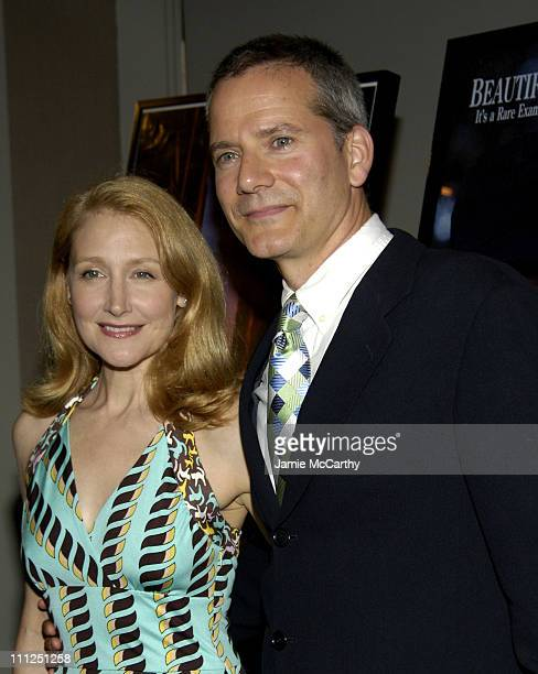 Patricia Clarkson and Campbell Scott during 5th Annual Young Friends of Film Honors Campbell Scott at Furman Gallery at The Walter Read Theater...