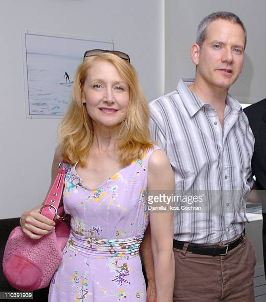 Patricia Clarkson and Campbell Scott during 'A Place In the Sun' Screening at SoHo House in New York City at SoHo House in New York City New York...