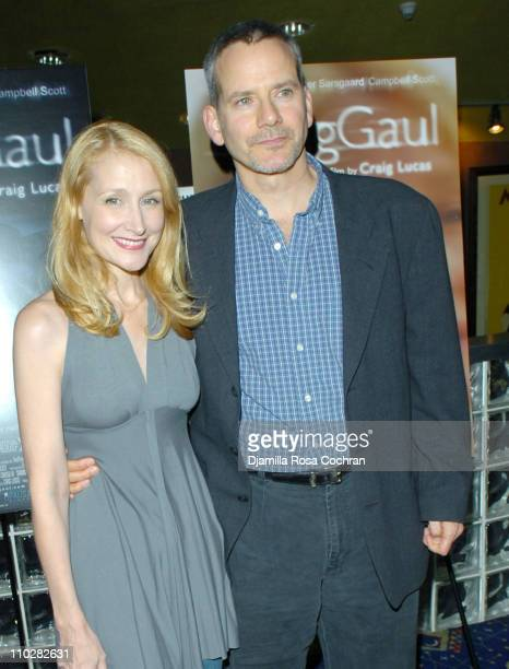 Patricia Clarkson and Campbell Scott during The Dying Gaul New York City Premiere at Clearview Chelsea West in New York City New York United States