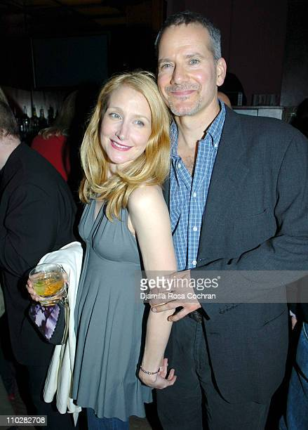Patricia Clarkson and Campbell Scott during The Dying Gaul New York City Premiere After Party at Clearview Chelsea West in New York City New York...