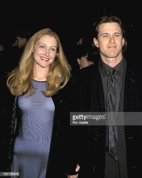 Patricia Clarkson and guest during The Green Mile New York Premiere at Ziegfeld Theater in New York City New York United States