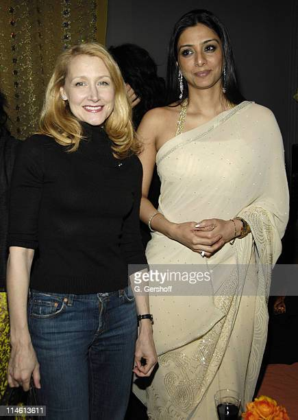 Patricia Clarkson and Tabu during The Namesake New York City Premiere After Party at 711 Greenwich Street in New York City New York United States