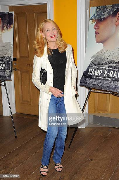 Patricia Clarkson attends 'Camp XRay' New York Premiere at Crosby Street Hotel on October 6 2014 in New York City