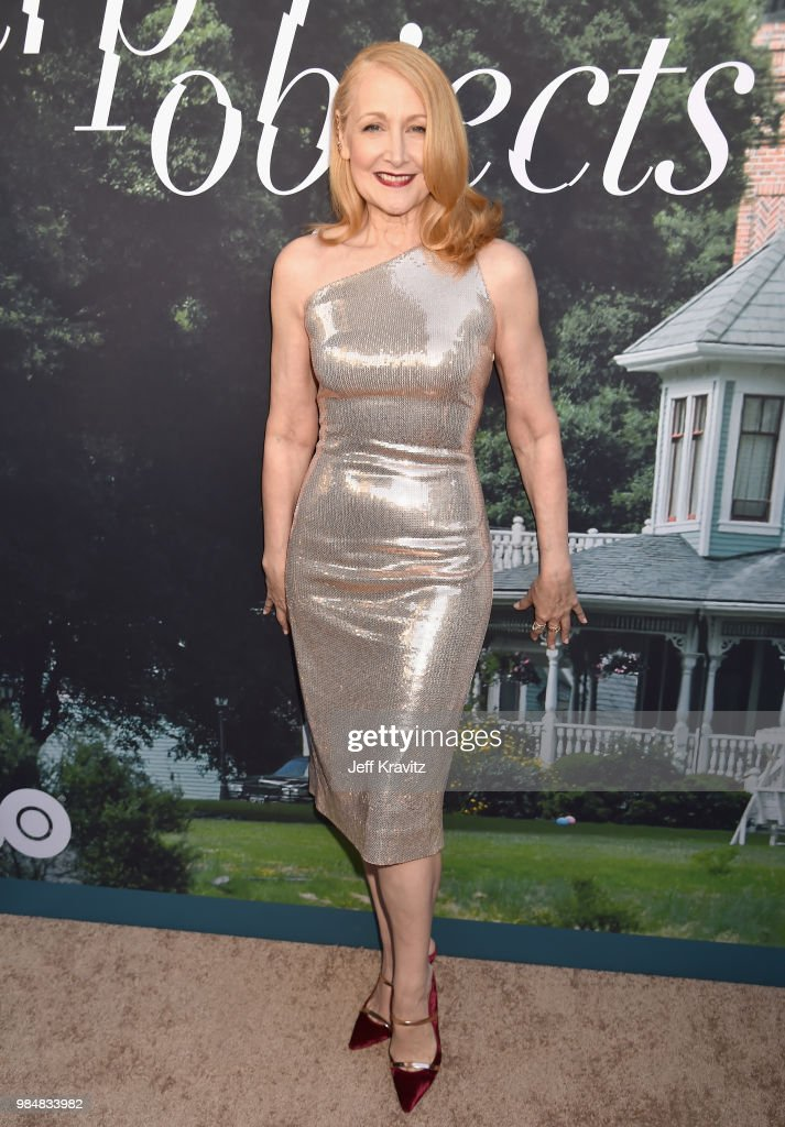 Patricia Clarkson attends HBO's Sharp Objects Los Angeles premiere at ArcLight Cinerama Dome on June 26, 2018 in Hollywood, California.