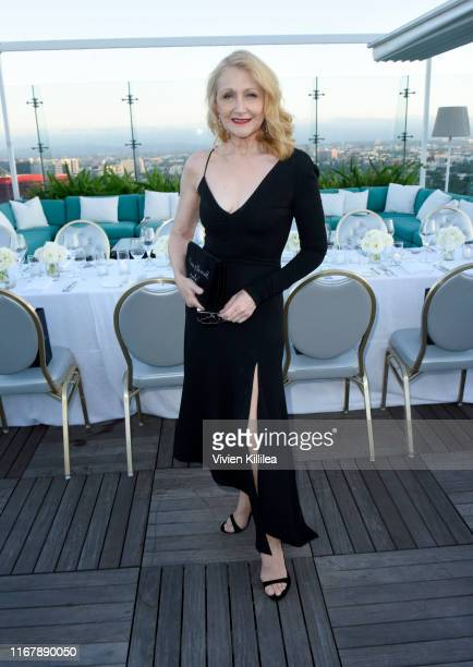 Patricia Clarkson attends InStyle's Badass Women Dinner With Foster Grant at The London West Hollywood on August 13 2019 in West Hollywood California