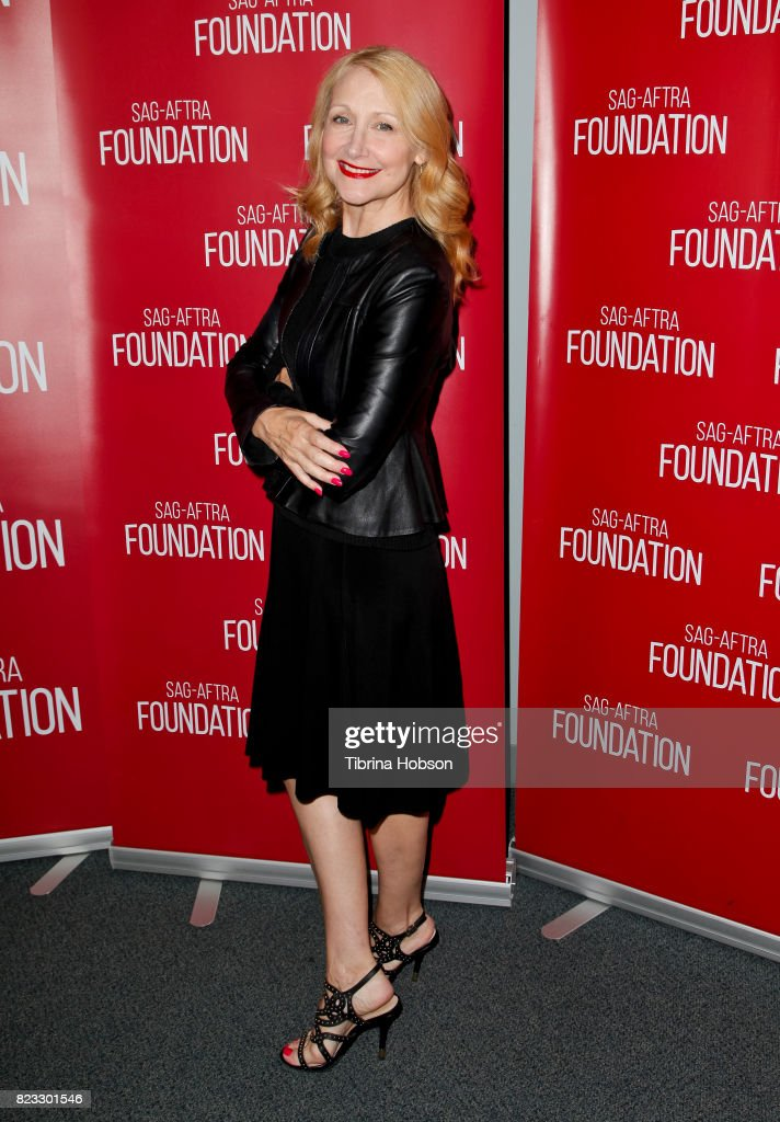 Patricia Clarkson attends SAG-AFTRA Foundation's conversations with 'House Of Cards' at SAG-AFTRA Foundation Screening Room on July 26, 2017 in Los Angeles, California.