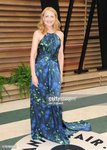 Patricia Clarkson attends the 2014 Vanity Fair Oscar Party hosted by Graydon Carter on March 2 2014 in West Hollywood California