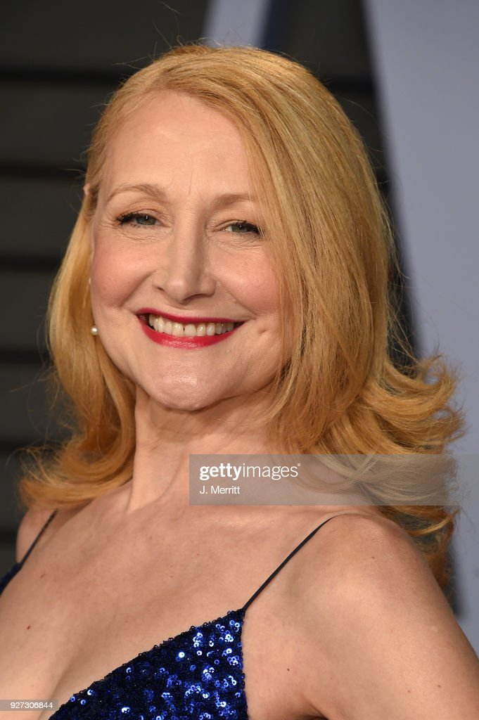 Patricia Clarkson attends the 2018 Vanity Fair Oscar Party hosted by Radhika Jones at the Wallis Annenberg Center for the Performing Arts on March 4, 2018 in Beverly Hills, California.
