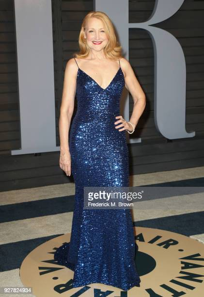 Patricia Clarkson attends the 2018 Vanity Fair Oscar Party hosted by Radhika Jones at Wallis Annenberg Center for the Performing Arts on March 4 2018...