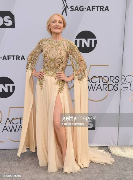 Patricia Clarkson attends the 25th Annual Screen ActorsGuild Awards at The Shrine Auditorium on January 27 2019 in Los Angeles California